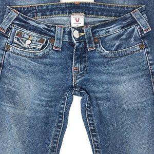 True Religion Jeans - True Religion Billy Straight Leg Jeans